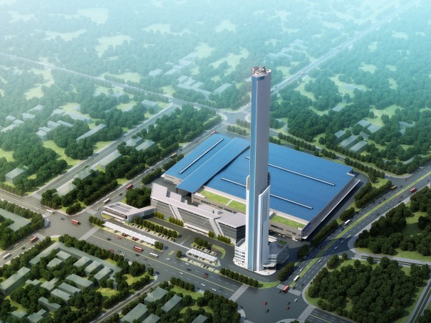 thyssenkrupp's Test Tower in Zhongshan
